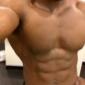 Derek Intro Gym Footage (pec bounce, locker room)